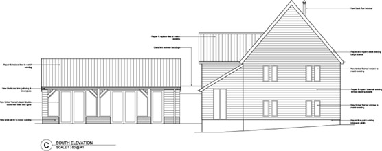 Barn Plan Drawing